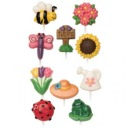 Wilton Candy Mold Modern Garden, 10 Motive, 2er Pack
