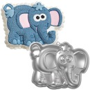 Wilton XL-Backform �Elefant�, Aluminium