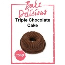 "Backmischung ""Triple Chocolate"" f�r Nordic Ware Bundt Backform 730 g"