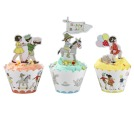 Belle & Boo Cupcakes Wrappers, Hase
