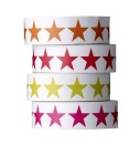 "Bloomingville Masking Tapes ""Stars"", 4er Set, 1,5 cm"