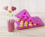 "Birkmann "" Cake Pops Baker, Silikon-Backform, 18-fach, LOVE"