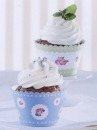 "Cupcake Wrapper ""Cottage Garden"", 12 Wrapper"
