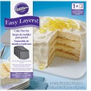 Wilton Easy Layers, Schichtkuchen, quadrat, 4er Set, 15 cm