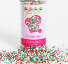 FC Sprinkles 1,5 mm, 80 g, 'Christmas'