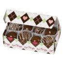 Wilton Geb�ckschachtel Set, Love Chocolate, 3 Stk