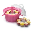 Kitchen Craft Cupcake Courier 34 x 27 cm, f�r 24 Cupcakes