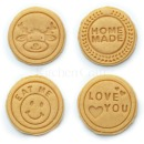 Kitchen Craft Keks-Stempel Set, 6 cm 4 Motive