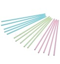 Kitchen Craft Cakepops Stiele, Lollisticks, 15 cm, 60 Stk., pink, blau, gr�n