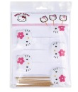 Lollipopformen mit Sticks, Hello Kitty