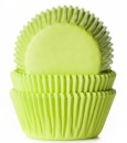 HoM Muffinf�rmchen, limette, 50 Stck, 5,0 cm