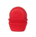 Mini Muffinf�rmchen rot Red Velvet