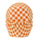 Muffinf�rmchen, orange, karo, House of Marie