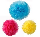 3 Wabenb�lle MIX, POMPOM