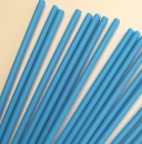 25 Plastik Cake Pops Sticks, blau, 15 cm