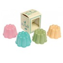 "Pudding-Formen ""Jelly Moulds"", 4er Set"