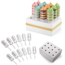 12 Push Up Cake Pops mit 1 St�nder