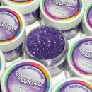 "Rainbow Dust Glitzerstaub, ""Jewel Lavender"" (lila), 5 g"