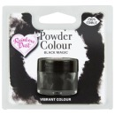 "RD Lebensmittelfarbe Pulver ""Black Magic"", schwarz, 3 g"