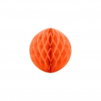 Wabenball 20 cm Orange