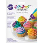 Wilton Color Swirl 3 Farben Cupcakes Frosting Adapter Coupler, L