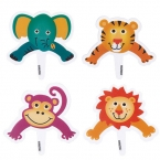 Wilton Cakepops-Picker Set, Zoo-Tiere, 8 Stck.