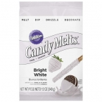 Wilton Candy Melts f�r Cake Pops, extra wei�, Bright White, 340 g