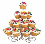 Wilton Cupcake-St�nder, Etagere f�r 23 Cupcakes