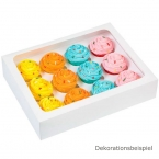Wilton Cupcake Box f�r 12 Mini Cupcakes, 3er Set