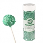 Wilton Glitzerzucker (Sprinkles), Emerald gr�n, 148 g