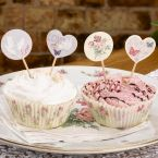 Cupcakes Picker - 'With Love', 20 Stck.